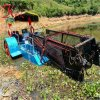 湖北减负水葫芦打捞船 广东切割水浮莲清理机械