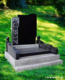 定做墓碑 土葬家族墓碑 花岗岩石碑