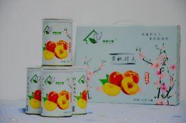 紫藤木屋礼盒黄桃罐头鲜果原料不添加防腐剂