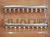 卫生级不锈钢304分水器,饮用水分水管,排管