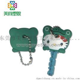 PVC鑰匙套 塑膠軟膠鑰匙套 卡通趣味鑰匙套鑰匙帽