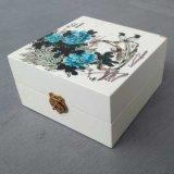 厂家生产定做木盒包装盒 创意丝印山水画仿古长方形木盒木礼品盒