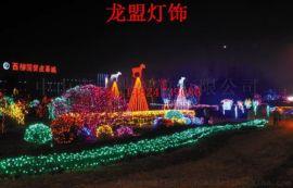 LED灯串造型灯 广场亮化 路灯杆装饰造型灯