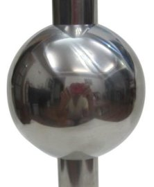 50mm標SS201空心不鏽鋼異形球