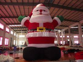 充氣聖誕老人氣模模型雪人氣模耶誕節布置道具雪人
