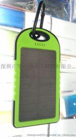 防水太阳能手机移动电源批发 迷你新款太阳能充电宝厂家批发