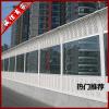 【安固牌】桥梁声屏障  顶部弧形、直立型   金属百叶孔型