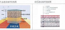 聊城藝術透水混凝土 彩色地坪的施工工藝免費指導