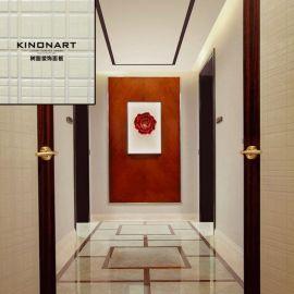 酒店樹脂裝飾面板背景牆木飾面酒店吊頂水晶裝飾板材料