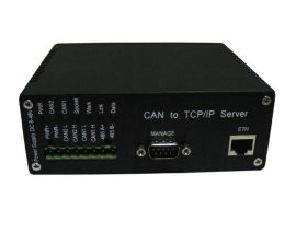 京金華TNODE-N2兩路CAN轉以太網轉換器
