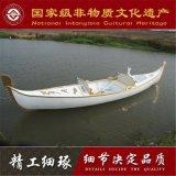 湖南有木船厂家出售优质贡多拉游船 橡木线条 汽车喷漆