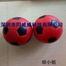 [足球]PU发泡足球,大号儿童玩具足球,PU蓝球,练习球