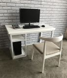电脑桌家用书桌实木电脑桌椅组合小户型铁艺家具