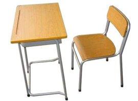 单人学生课桌椅厂家直销