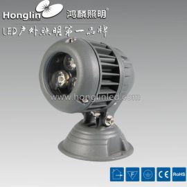 3X3W圆形投光灯_2014新款led投射灯_9W大功率投光灯