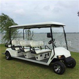 直供东海8座电动高尔夫球车,游乐园休闲代步观光车