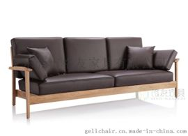 專業定制各種時尚休閒沙發實木沙發定制廠家