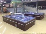 雅紳寶超市臥式低 溫島櫃 餃子湯圓低溫速 凍櫃 商超臥式組合島櫃 YZ18WD