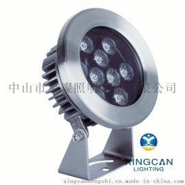 公园广场喷泉专用照明led水底灯 led喷泉灯3W6W9W