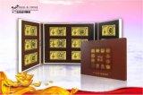 生肖纯金纯银纪念钞套装定制金卡银卡高档金属制作
