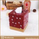 热销的高质量MDF纸巾盒
