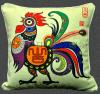 原创生肖艺术优质棉麻抱枕