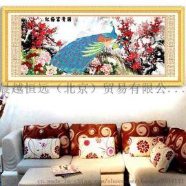 北京晨越恒远钻石画加盟低调打造健康环保的家居装饰