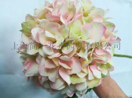 設計師的花仿真繡球花單支繡球繡球絹花
