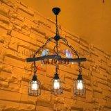 玛斯欧树枝小鸟三头鸟笼美式复古乡村风格餐厅酒吧别墅个性吊灯MS-P9006