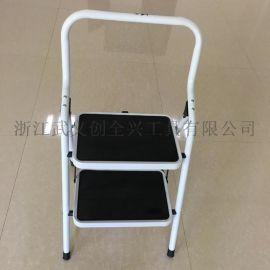 厂家直销,批发2步可折叠,便携式的家用梯/钢梯