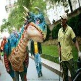 仿真恐龙服 恐龙表演服 仿真恐龙衣服