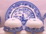 景德镇陶瓷餐具批发促销价定制青花陶瓷餐具加工厂