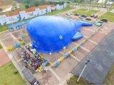 儿童充气鲸鱼岛乐园室外大型充气城堡鲸鱼王子生产厂家
