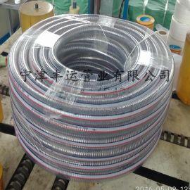 丰运供应PVC透明钢丝管钢丝螺旋增强管各种规格