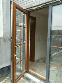 泰州贝科利尔欧式铝包木门窗