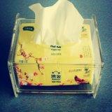 压克力纸巾盒 亚克力餐巾盒 适合酒店居家使用 可定制尺寸和款式YS907
