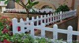 PVC草坪护栏|塑钢花池围栏|草坪栅栏|花坛隔离网