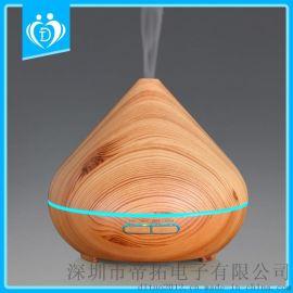 300ml新款热销木纹香薰加湿器 DT-1516V