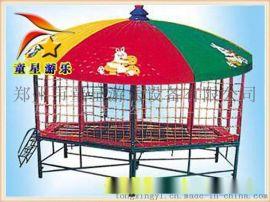 款式新颖潮流的蹦蹦床广场新型游乐设备童星游乐供应
