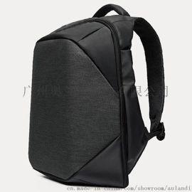 电脑双肩包定制 男包背包厂家加工广州花都狮岭休闲帆布单肩包工厂