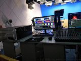 实时进行特效直播的虚拟演播室系统4k画质虚拟演播室