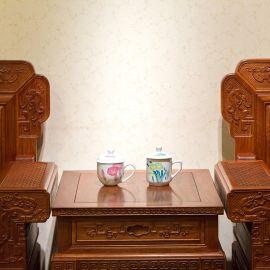 釉下五彩瓷 陶瓷杯厂家直销 陶瓷茶杯定做 高端日用陶瓷