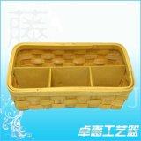 专业生产竹制篮子|手工木片篮|节日庆典竹篮子|广西竹制品厂家