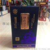 山东酒盒生产厂家新款推出扇形白酒木盒包装