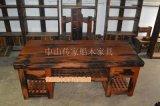 仿古船木书桌 船木办公桌 船木办公台 特色灵感中国家具