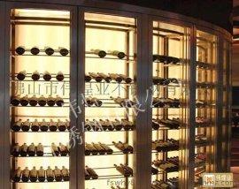 不鏽鋼恆溫酒櫃工程定制設計