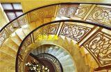 别墅(图),订制K金旋转铝艺楼梯护栏,青岛市铝艺楼梯护栏