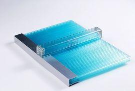 10mm四層U型鎖扣陽光板