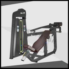 德州健身器材厂家 上斜推胸训练器 室内力量运动器械