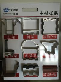 南僑鋁業A6款陽光房型材